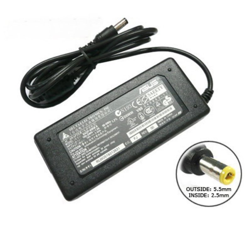 Блок питания (зарядное устройство) для ноутбука Asus. Ток: 19V 4.74A 90W, штекер 5.5x2.5. P/N: ADP-9