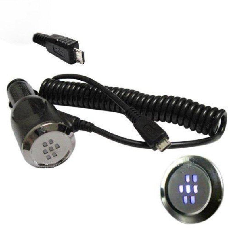 Автомобильное зарядное устройство micro USB, оригинальное Blackberry RCF-01 для телефонов BlackBerry