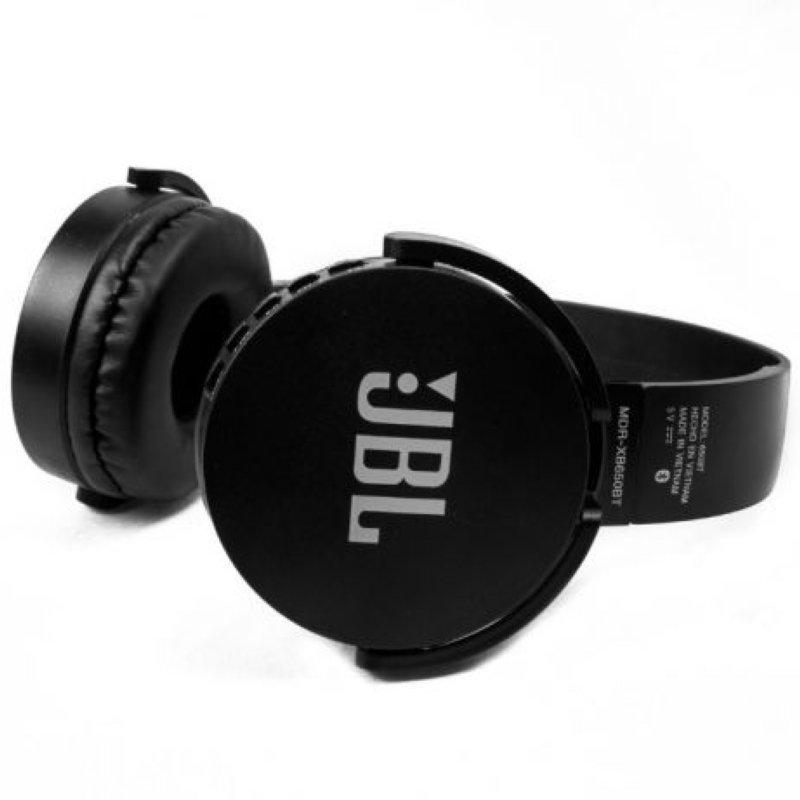 Беспроводные Bluetooth наушники (гарнитура) JBL аналог MDR-XB650BT черные