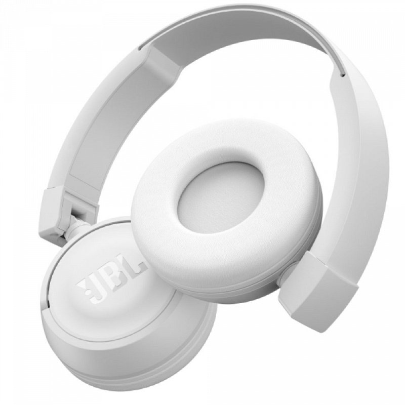 Беспроводные Bluetooth наушники (гарнитура) JBL аналог T450BT белые