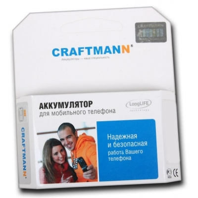 АКБ (аккумулятор, батарея) Alcatel CAB31P0000C1, CAB31P0001C1, TB-4T0058200, BY71 Craftmann 1450mAh для Alcatel One Touch 903, 903D, 908, 908F, 908M,