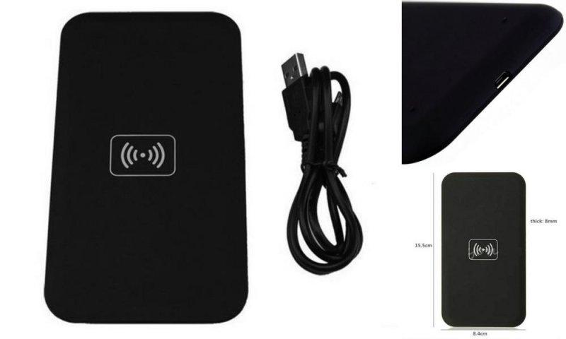 Беспроводное зарядное устройство (Wireless charger) для телефонов, поддерживающих стандарт питания Qi